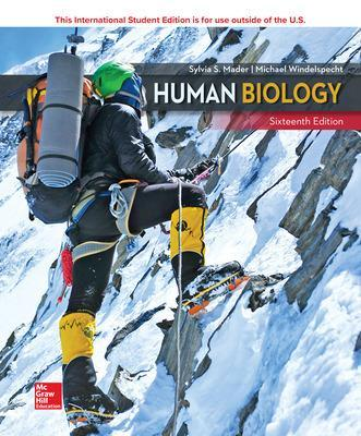 Human Biology - Mader, Sylvia, and Windelspecht, Michael