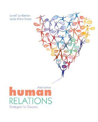 Human Relations - Lamberton, Lowell, and Minor-Evans, Leslie, and Lamberton Lowell