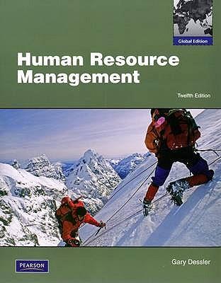Human Resource Management Dessler 13th Edition Pdf