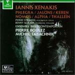 Iannis Xenakis: Phlegra; Jalons; Keren; Nomos; Alpha; Thalleïn