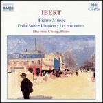 Ibert: Piano Music