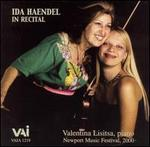 Ida Haendel in Recital