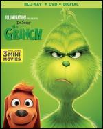 Illumination Presents: Dr. Seuss' The Grinch [Includes Digital Copy] [Blu-ray/DVD]