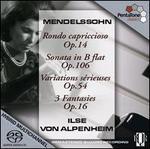 Ilse Von Alpenheim Plays Mendelssohn