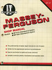 Massey-Ferguson Shop Manual (I&T Shop Service Manuals)