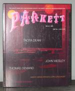 Parkett 62 Collaborations Tacita Dean, John Wesley, and Thomas Demand