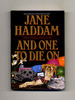 And One to Die on-1st Edition/1st Printing