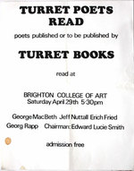 Turret Poets Read