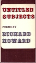 Untitled Subjects. Poems