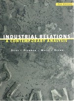 Industrial Relations: a Contemporary Analysis
