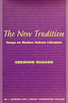 The New Tradition: Essays on Modern Hebrew Literature