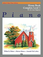Alfred's Basic Piano Library-Hymn Book Complete 1 (1a/1b): Learn How to Play Piano With This Esteemed Method