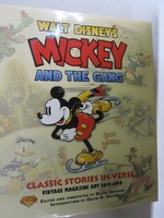 Walt Disney's Mickey and the Gang Classic Stories in Verse; Vintage Magazine Art 1934-1944
