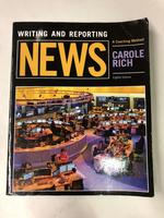 Writing and Reporting News: a Coaching Method