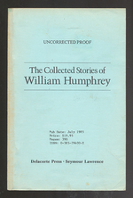 The Collected Stories of William Humphrey
