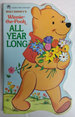 Winnie-the-Pooh All Year Long (a Golden Sturdy Shape Book)