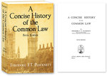 A Concise History of the Common Law. Fifth Edition