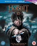 The Hobbit: the Battle of the Five Armies [Blu-Ray 3d + Blu-Ray] [2015] [Region Free]