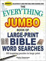 Jumbo Book of Large-Print Bible Word Searches (the Everything)