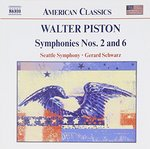Walter Piston: Symphonies Nos. 2 and 6