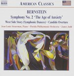 """Bernstein: Symphony No. 2 """"The Age of Anxiety""""; West Side Story Symphonic Dances; Candide"""