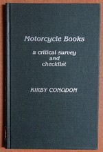 Motorcycle Books: a Critical Survey and Checklist