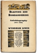 Blasting and Bombardiering: Autobiography (1914-1926)