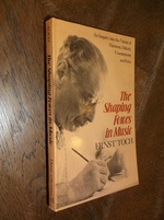 The Shaping Forces in Music: an Inquiry Into the Nature of Harmony, Melody, Counterpoint and Form (Dover Books on Music)
