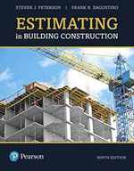 Estimating in Building Construction (What's New in Trades & Technology)
