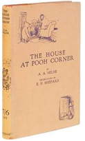 Antiquarian books and antique editions of The House at Pooh Corner, by A.A. Milne