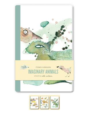 Imaginary Animals Blank Notebooks: Set of Three 48-Page Blank Notebooks - Sonheim, Carla