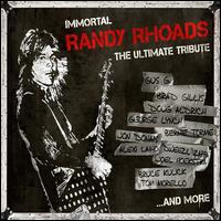 Immortal Randy Rhoads: The Ultimate Tribute [Translucent White Vinyl] - Various Artists