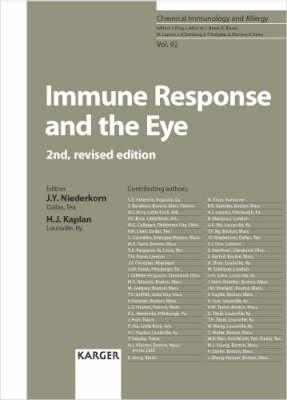 Immune Response and the Eye - Niederkorn, Jerry Y (Editor)