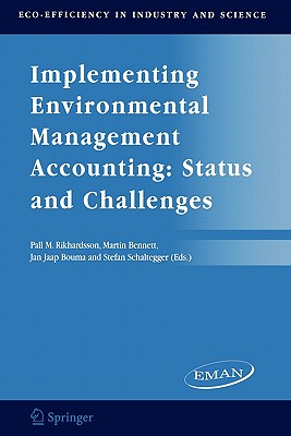 Implementing Environmental Management Accounting: Status and Challenges - Rikhardsson, Pall M (Editor)