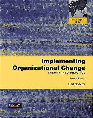 organization change theory and practice pdf