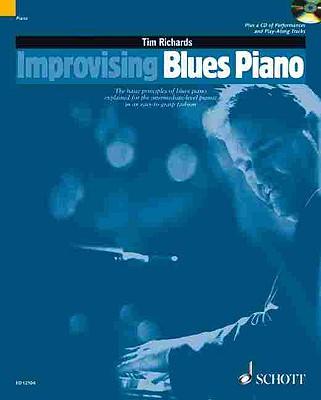 Improvising Blues Piano - Richards, Tim (Composer)