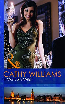 In Want Of A Wife? - Williams, Cathy