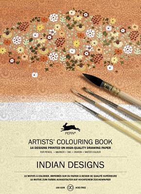 Indian Designs: Artists' Colouring Book - Van Roojen, Pepin