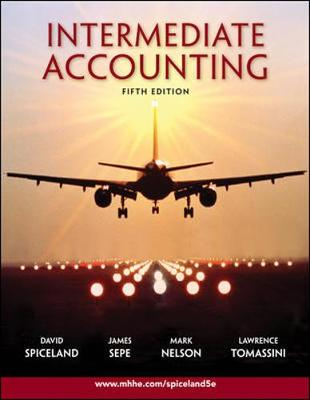 Intermediate Accounting - Spiceland, J David