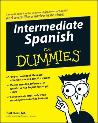 Intermediate Spanish for Dummi - Stein, Gail