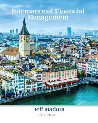 International Financial Management - Madura, Jeff, Professor