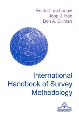 International Handbook of Survey Methodology - de Leeuw, Edith D (Editor)