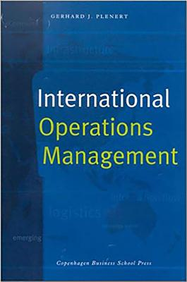 International Operations Management - Plenert, Gerhard J