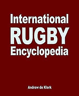 International Rugby Encyclopedia - De Klerk, Andrew