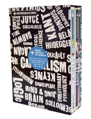 Introducing Graphic Guide Box Set - Great Theories of Science: A Graphic Guide - Sardar, Ziauddin, Professor, and Bassett, Bruce, and McEvoy, J P