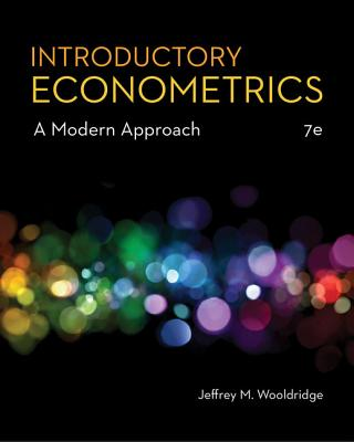 Introductory Econometrics: A Modern Approach - Wooldridge, Jeffrey