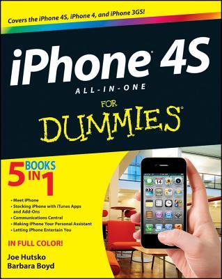 iPhone 4s All-In-One for Dummies - Hutsko, Joe