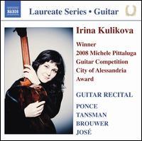 Irina Kulikova: Guitar Recital - Irina Kulikova (guitar)