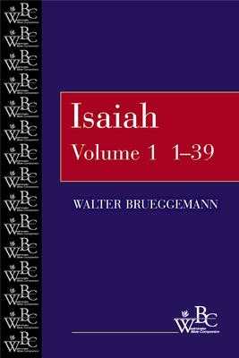 Isaiah 1-39 - Brueggemann, Walter
