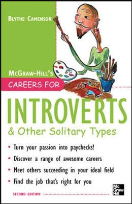 Careers for Introverts & Other Solitary Types - Camenson, Blythe